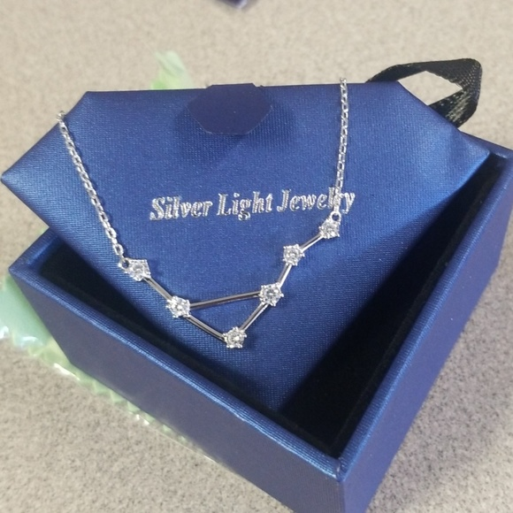18aabf71e037e Libra constellation necklace NWOT